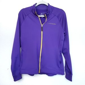 Nike Dri-Fit Livestrong Zip up Jacket